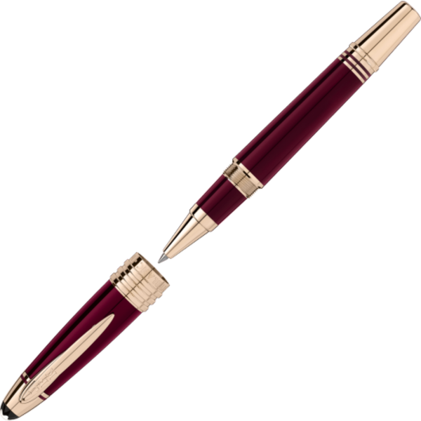 Montblanc John F. Kennedy Special Edition Rollerball Writing Instrument - Burgundy/Champagne