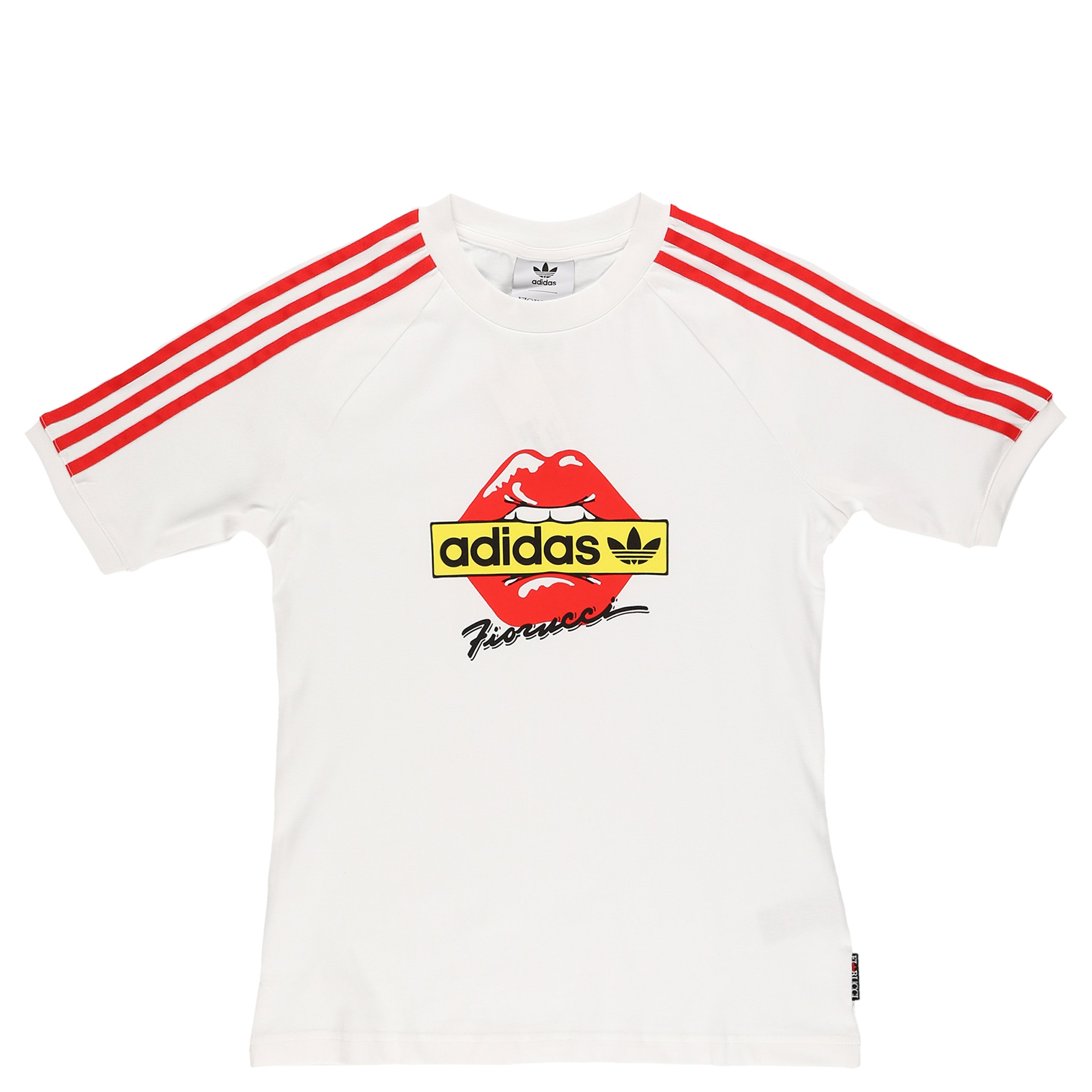 931ebc52e22 adidas Originals x Fiorucci Kiss T- Shirt - White/Red | Garmentory