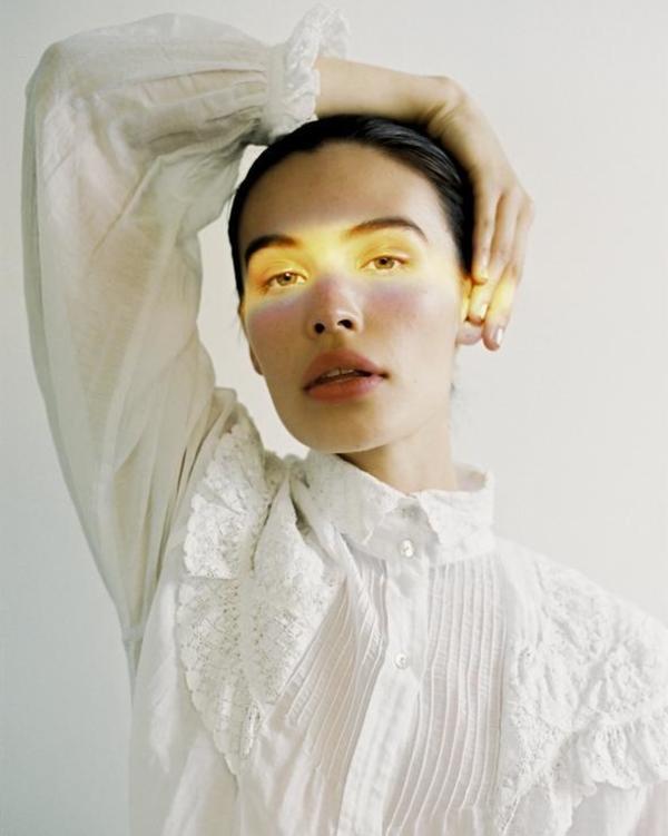 Maria Stanley maya blouse - salt