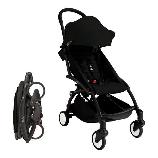Baby Zen Yoyo + Stroller Frame - Black