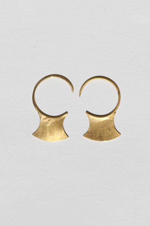Mondo Mondo 18K Gold Vermeil Blade Earrings