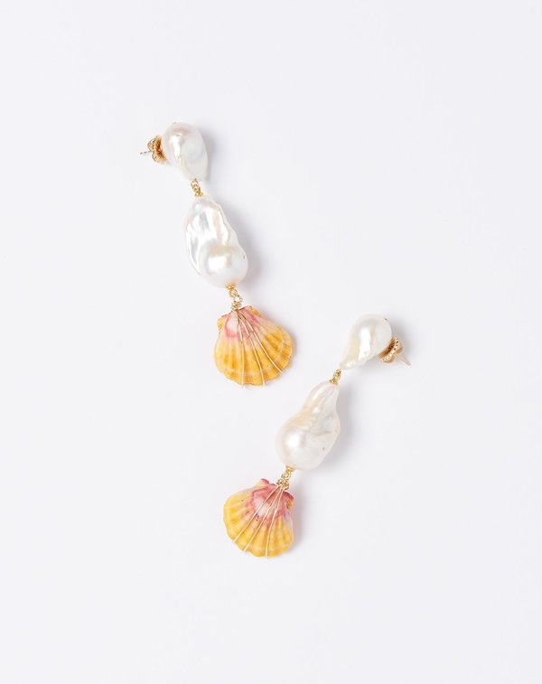 Fry Powers Sunrise Kingdom Drop Earrings