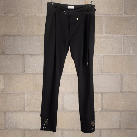 Bed J.W. Ford Jockey Trousers Slim Fit Version 1 - Black