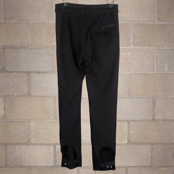 Bed J.W. Ford Jockey Trousers Slim Fit Version 1 - Black