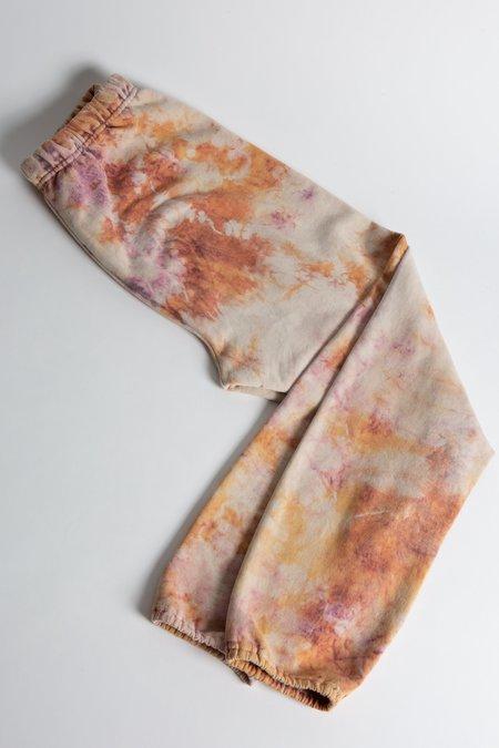 WOLF & GYPSY VINTAGE Tie Dye Joggers - Peach