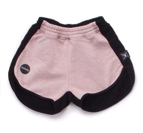 Kids Nununu 1/2 and 1/2 Gym Shorts - Pink