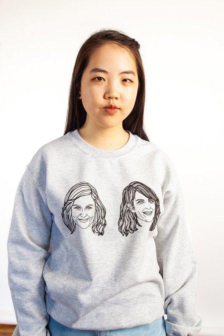 Allie Sweeting The Amy and Tina Sweatshirt