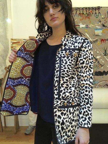 Alix of Bohemia Snow Jacket -  Leopard