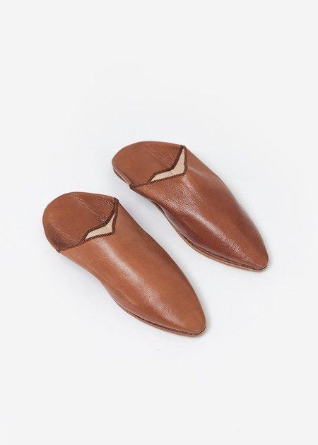 Bronze Age Massa Leather Glove Shoe - Camel