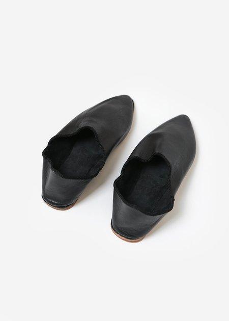 Bronze Age Massa Leather Glove Shoe - Black