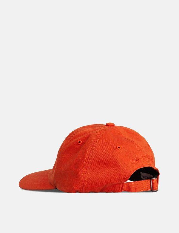 Norse Projects Twill Sports Cap - Pumpkin Orange