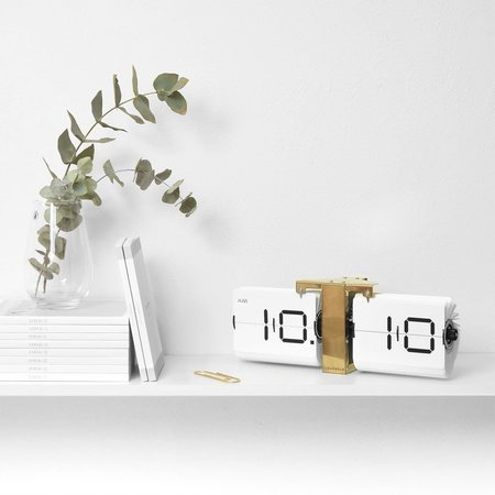 Cloudnola Flipping Out Clock - White