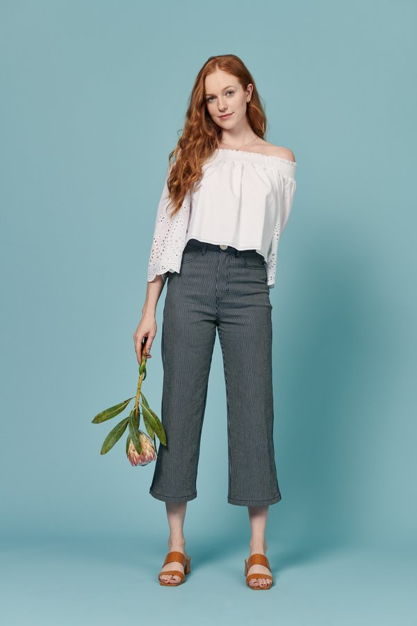 Whimsy + Row August Top - White