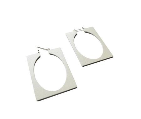 Natalie Joy Ellsworth Hoop Earrings - Egg