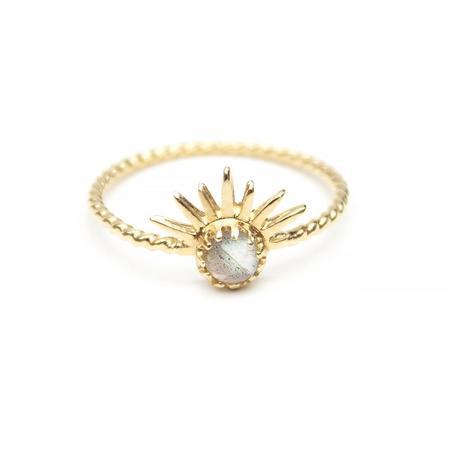 WELLDUNN Solar Ring - Gold