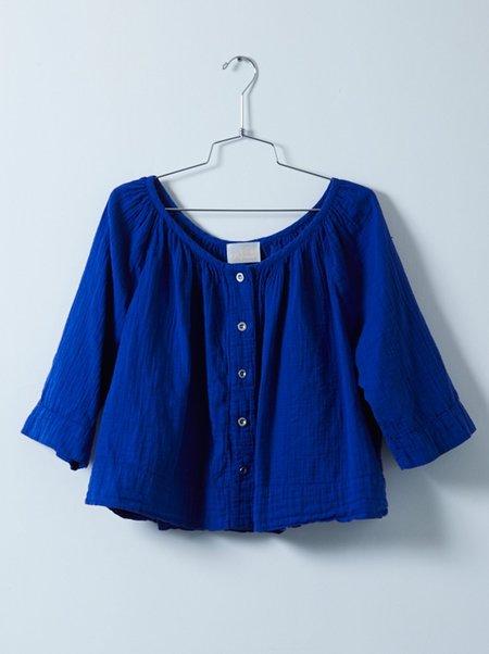 Atelier Delphine Millie Top - Majorelle Blue