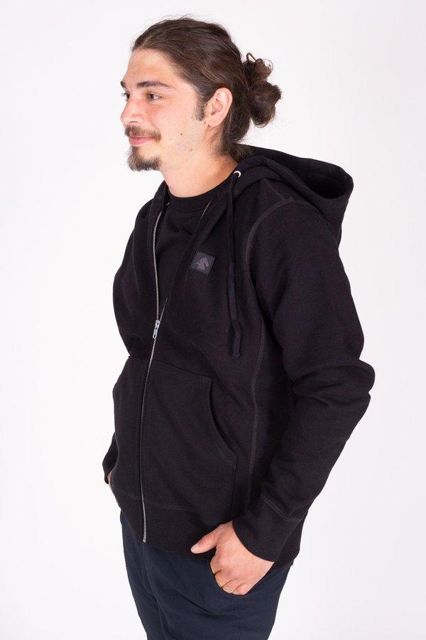 FOUR HORSEMEN Icon Zip Sweatshirt - Black/Black