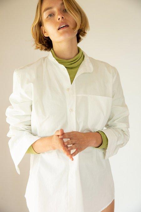 Unisex Sherie Muijs Shirt No. 06 - Vintage White