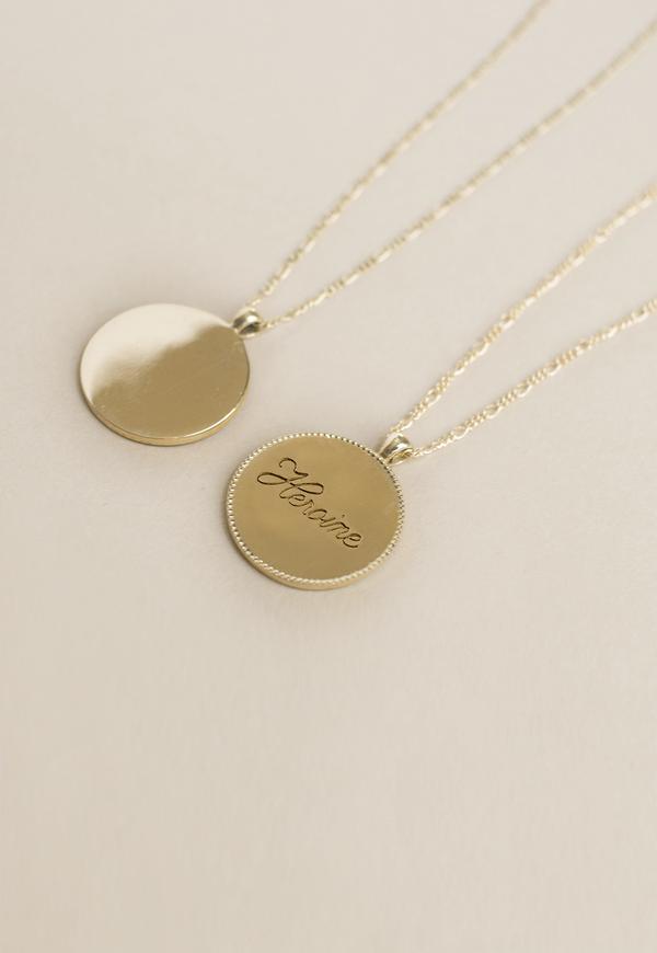 Merewif Heroine Necklace - Gold