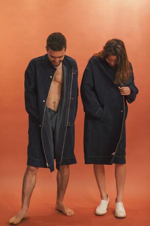 Denim Flasher Coat