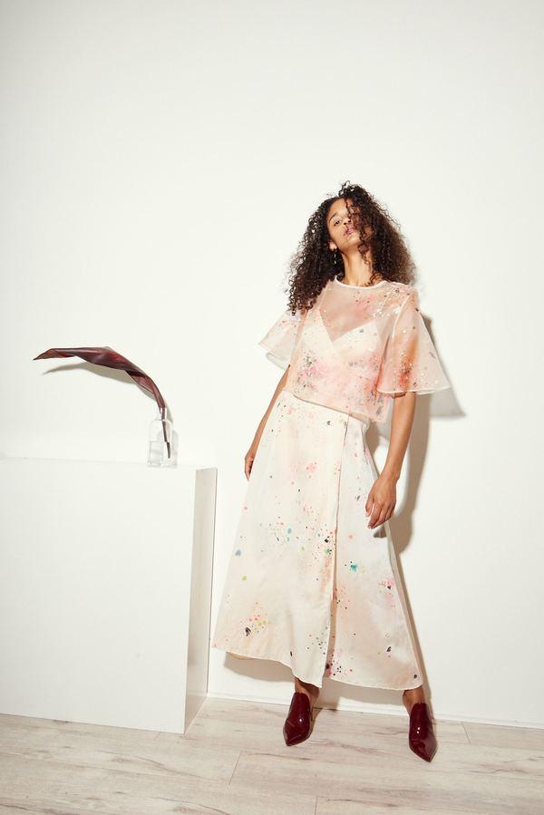 Kamperett Leonora Painted Blouse
