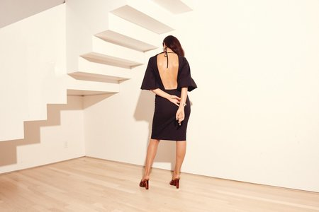 Kamperett VARO DRESS - BLACK