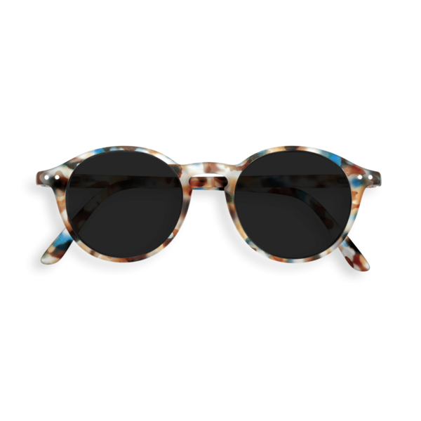 Izipizi Sunglasses #D Soft Grey Lenses Sunglasses - Blue Tortoise