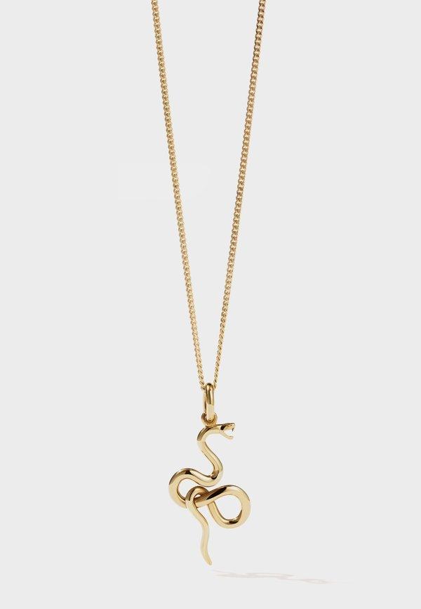 Meadowlark Medusa Necklace - gold