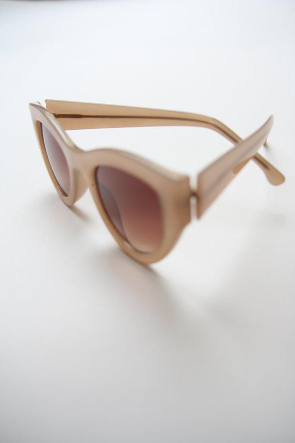 KOMONO Phoenix Cat Eyes Sunglasses - Sahara