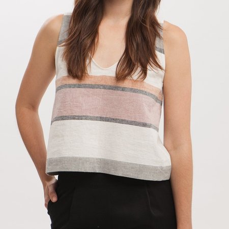 Amanda Moss Penny Tank - Stripe