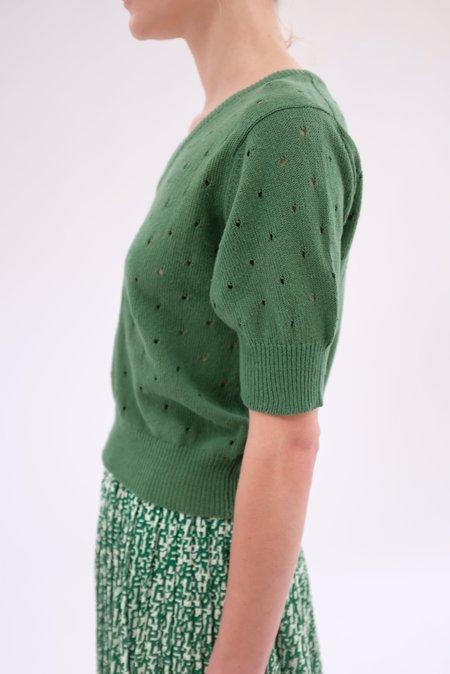 Beklina Paracas Knit Top - Cypress