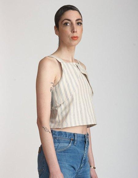 Micaela Greg Reverse Tank - Stripe