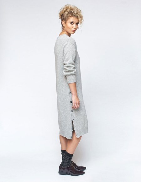 Micaela Greg Lou Sweater Dress - Cloud Grey