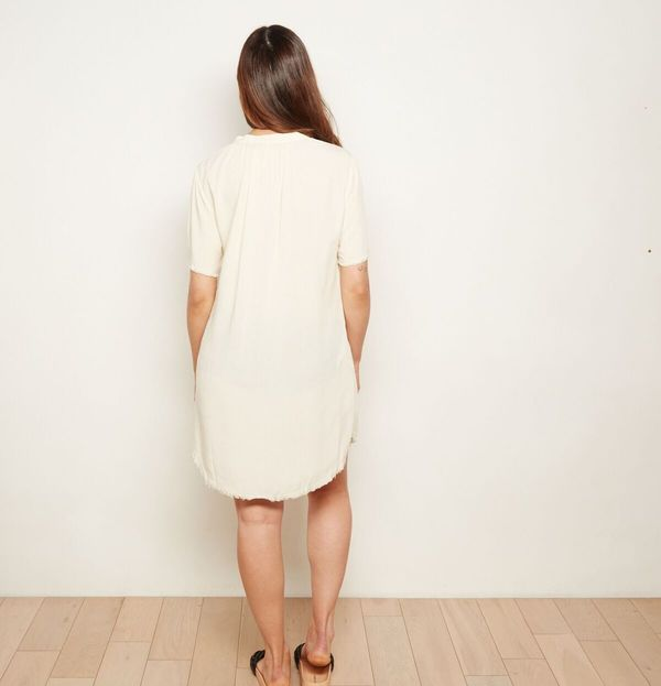 The ODELLS Everyday Shift Dress - Ecru