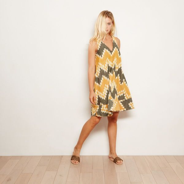 The ODELLS Pyramid Dress - Cornflower