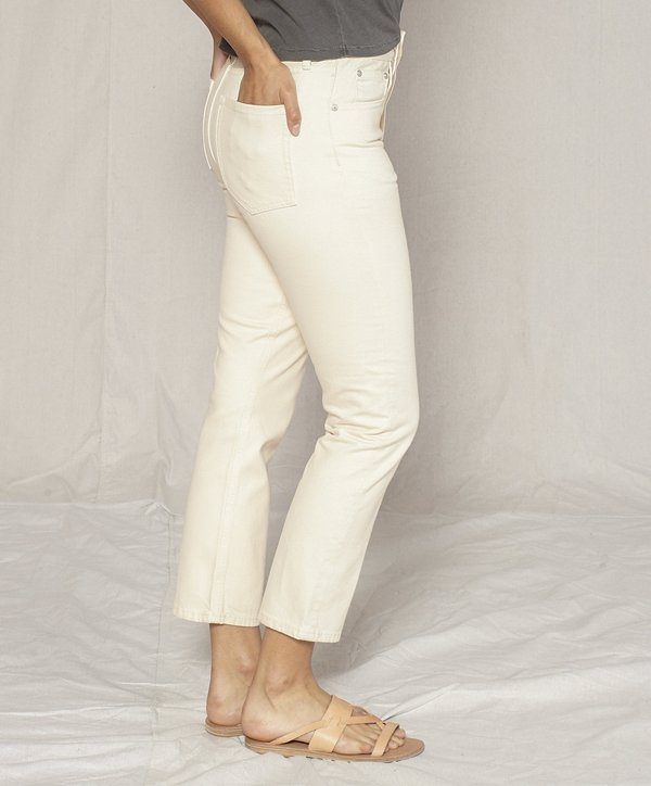 Outerknown Dune High Rise Slim Fit Jeans - Bloom