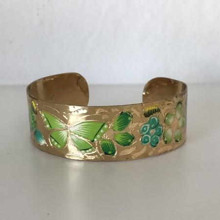 MEX Handmade butterfly cuffs - Brass
