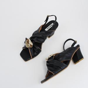 Reike Nen Knot Slingback Sandal - Black