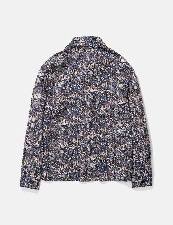 Norse Projects Mads Liberty Print Jacket - Ivy Green