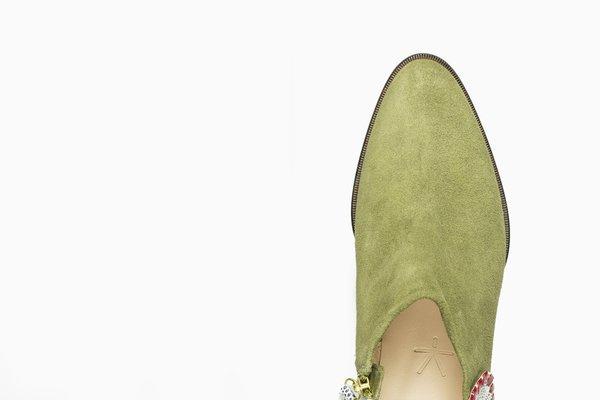 5yMedio Ignacia - Olive Green/White
