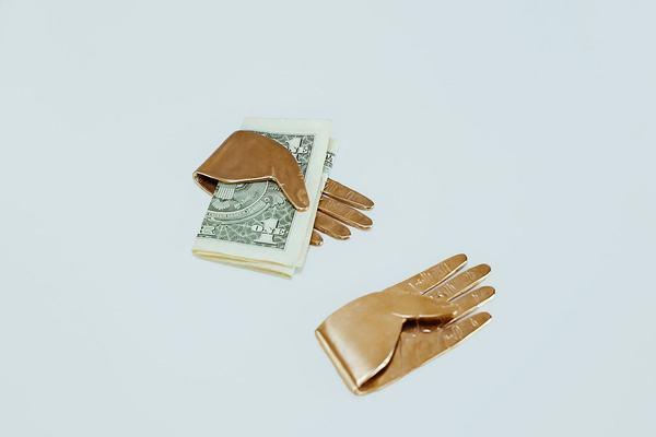 Yu Yu Shiratori Hand Money Clip - Brass