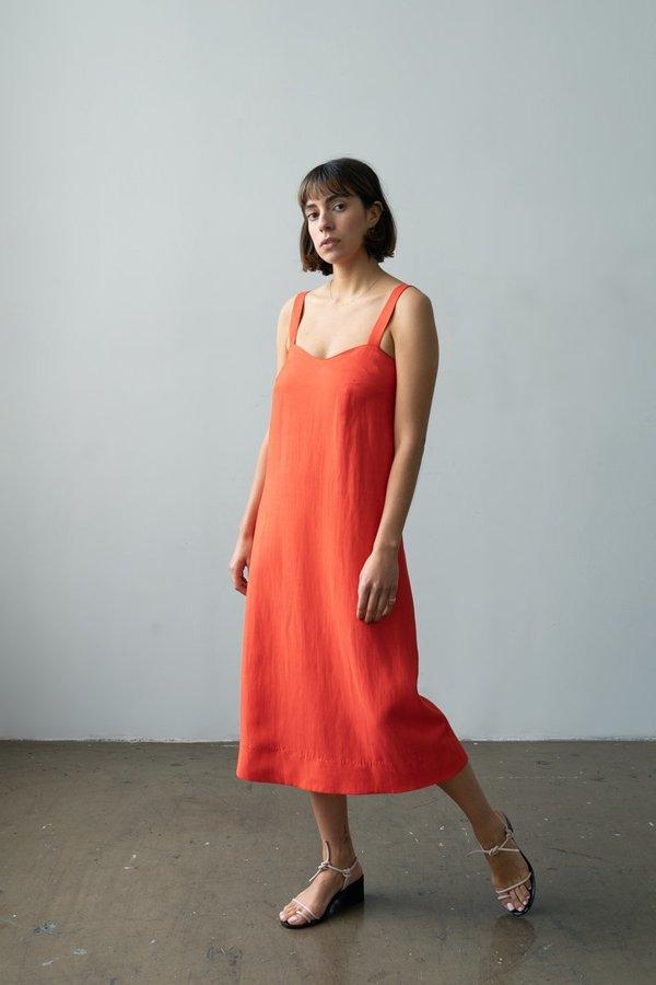 Waltz Wave Dress - Poppy