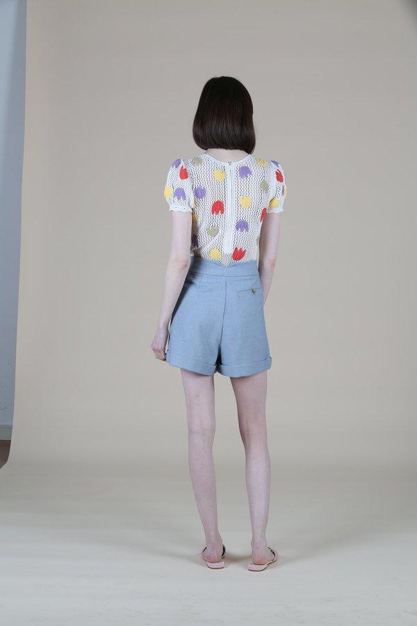 Ajaie Alaie Siniestra Shorts