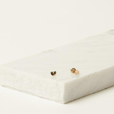 Iwona Ludyga Design Tiny Arc Earrings - 14K Gold