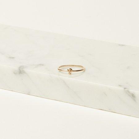 Iwona Ludyga Design Tiny Skully Ring - 14K Gold
