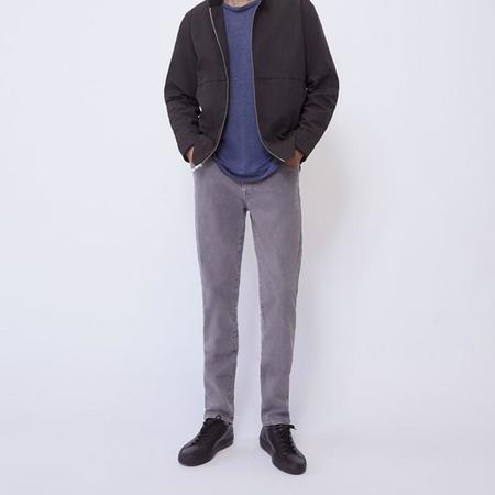BLDWN Modern Slim Iron Jeans - Vintage Light Gray