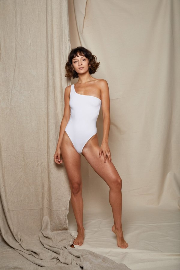 ARIELLE BALANCE SWIMSUIT - WHITE