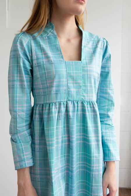 NC2 Paris Pastel Tartan Dress