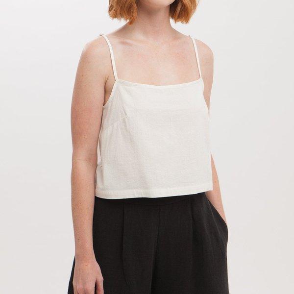 Amanda Moss Val Cami - White