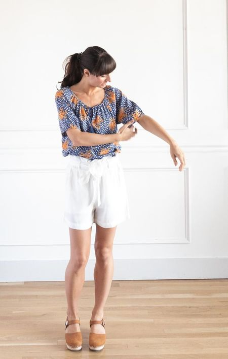 Thread & Supply Kerry Shorts - White